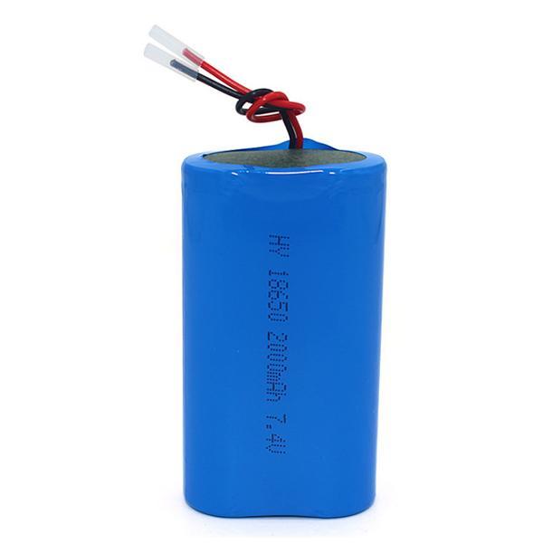 18650 series lithium battery pack 7.4V
