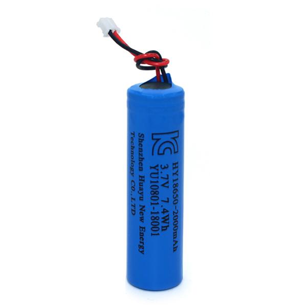 18650 lithium battery 3.7V